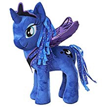 MY LITTLE PONY PRINCESS LUNA 12 INCH PLUSH - FLUTTERING WINGS