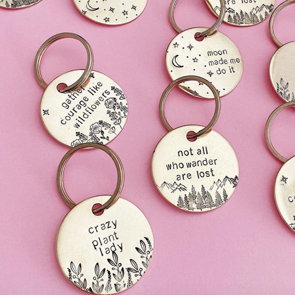 Stamped Keychain