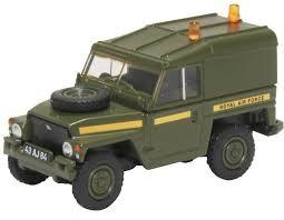Oxford #76LRL005 1/76 Land Rover Lightweight RAF