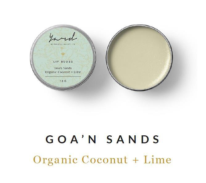 Organic Coconut & Lime Lip Bloss
