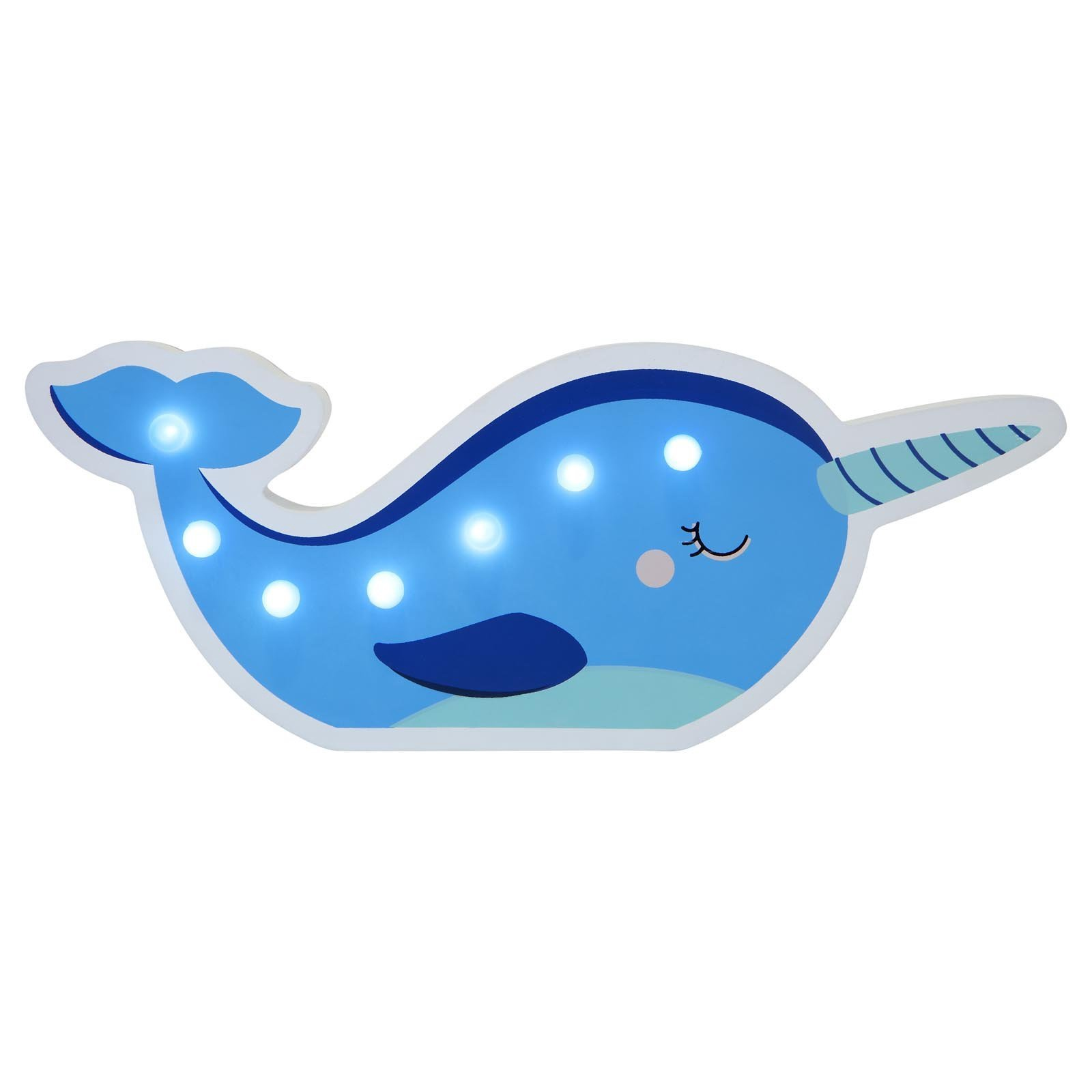 Sunny Life Narwhal Kids Marquee Light