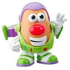 MR.POTATO HEAD TOY STORY 4 SPUD LIGHTYEAR FIGURE