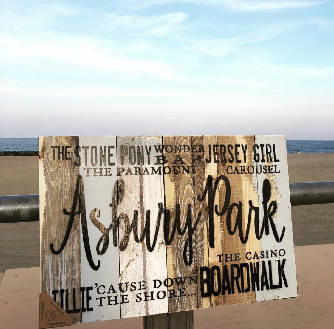 SB-Asbury Park Exclusive Wood Sign
