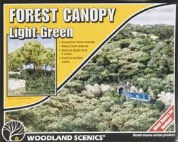 Woodland Scenics #F1660 Forest Canopy Light Green