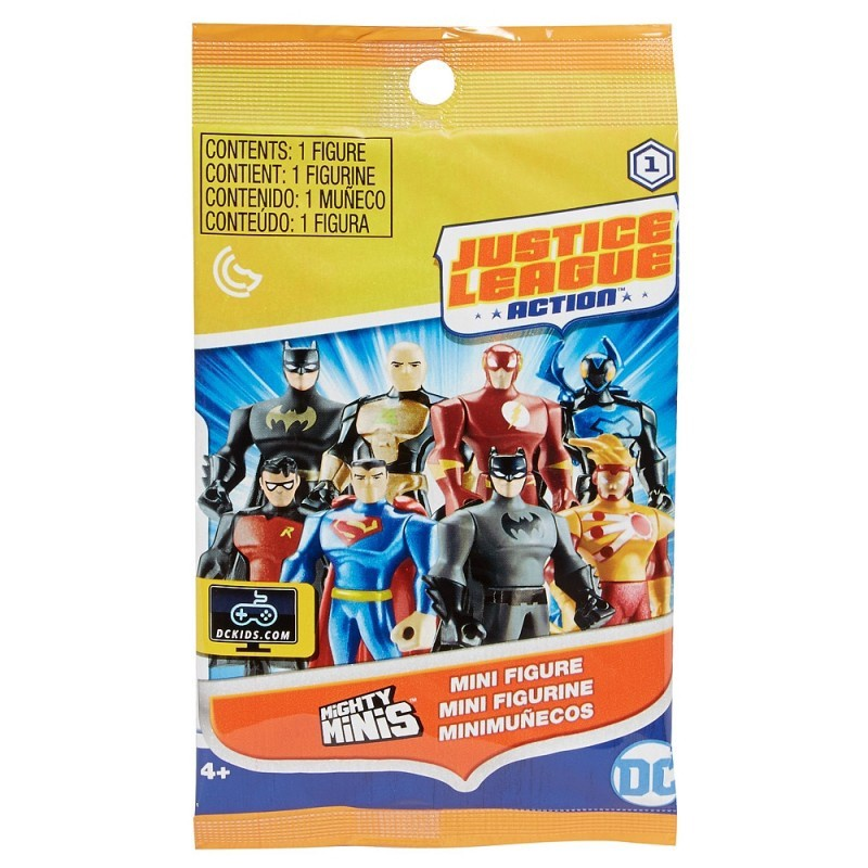 JUSTICE LEAGUE MIGHTY MINI FIGURE