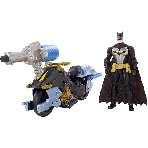 BATMAN BATCYCLE W FIGURE