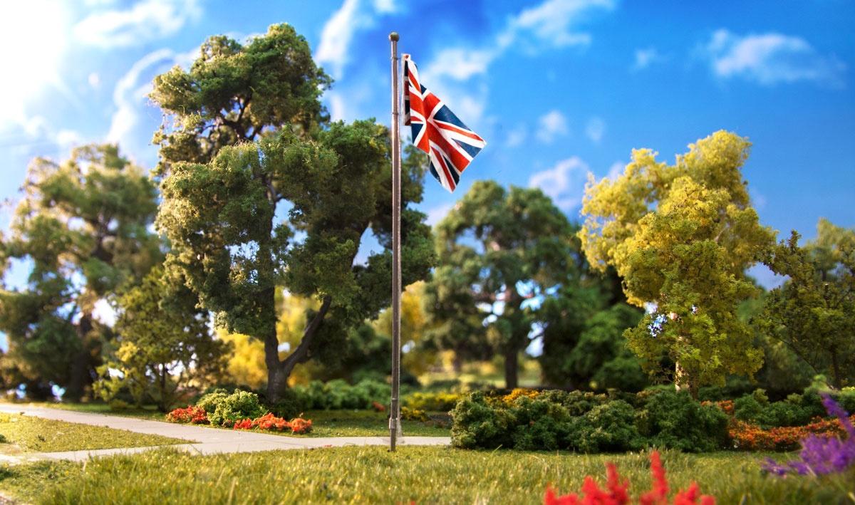 Just Plug #5959  Medium Union Jack Flag Pole