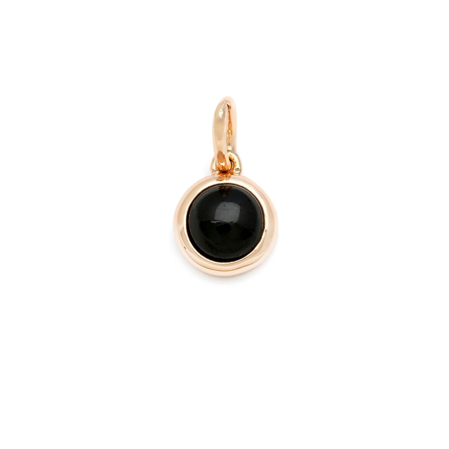 ADORNED-DESIGN YOUR OWN NECKLACE (GOLD)- BLACK ONYX CHARM