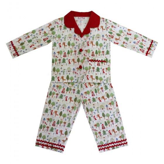 Red Riding Hood Long Sleeve Pyjamas