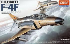 Academy #12611  1/144   Luftwaffe F-4F
