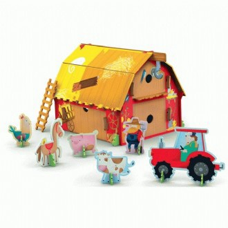 3D Farm And Book