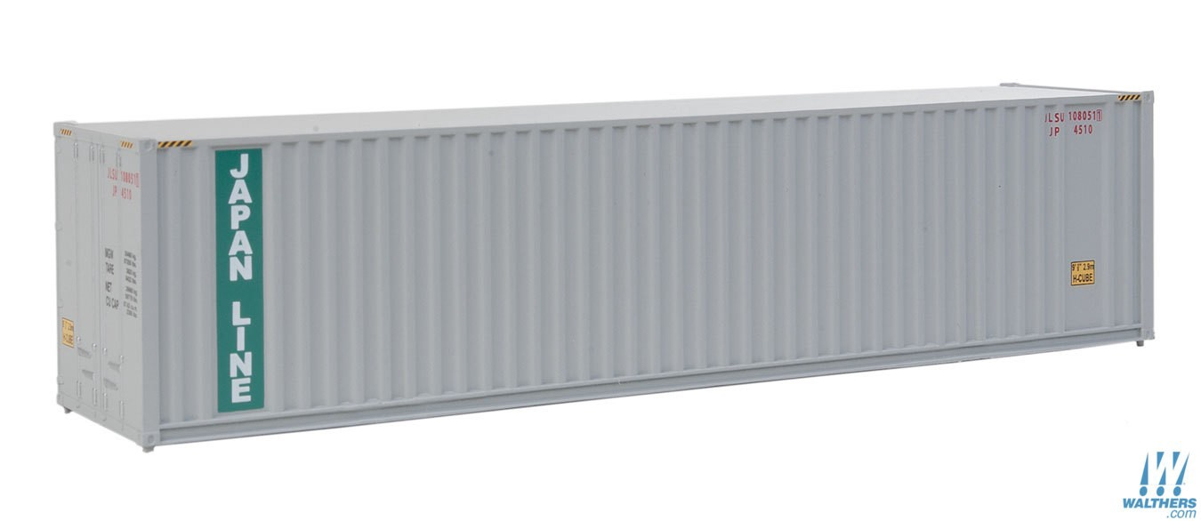 Walthers SceneMaster #949-8211  HO  40' Hi-Cube Corrugated Container