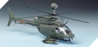 Italeri #71027 1/72 OH-58D Kiowa Warrior Starter Set