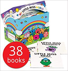 MY LITTLE MISS WORLD COLLCETION (38 BOOKS)