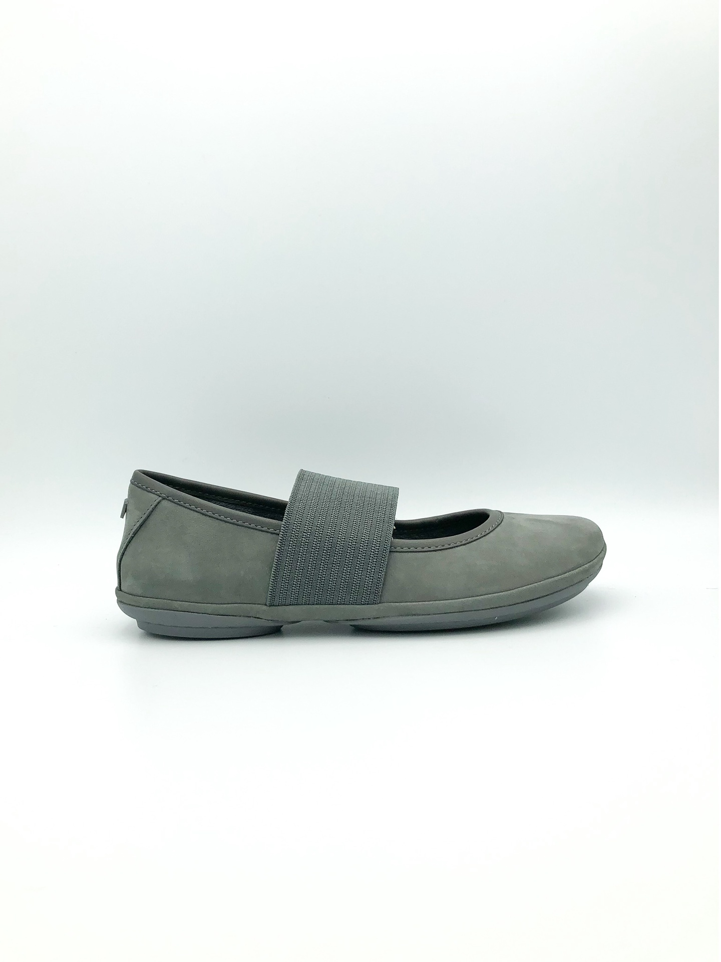 CAMPER - RIGHT NINA IN GREY SUEDE 21595-130