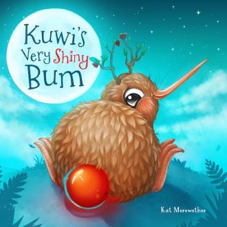 Kuwi's Very Shiny Bum + soft toy