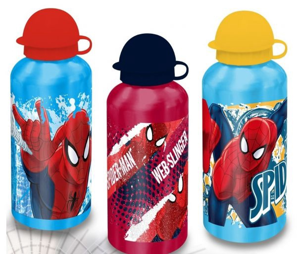 SPIDERMAN ALU BOTTLE