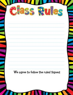 CTP 6422 CLASS RULES CHART