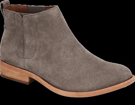 Velma Short Grey Suede Boot