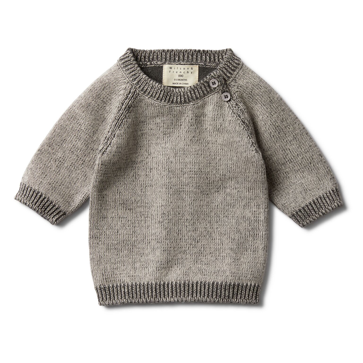 WF Dark moon two tone jumper