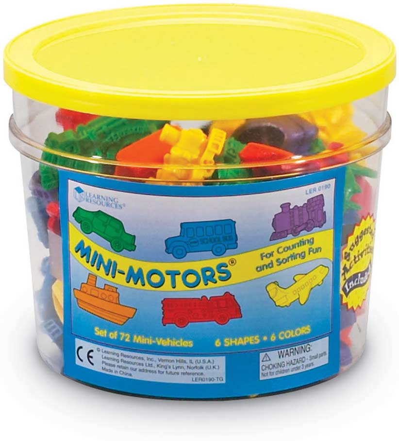 MINI MOTORS COUNTERS SET OF 72