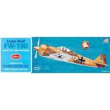 Guillow's #502 Focke-Wulf FW-190
