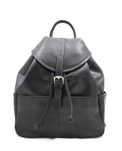 NYX & MIN LIONESS LEATHER BACKPACK