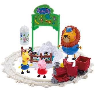 PEPPA DAY OUT AT THE ZOO PLAYSET