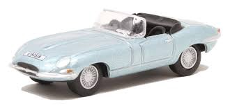 Oxford #76ETYP014 1/76 Jaguar E-Type Roadster