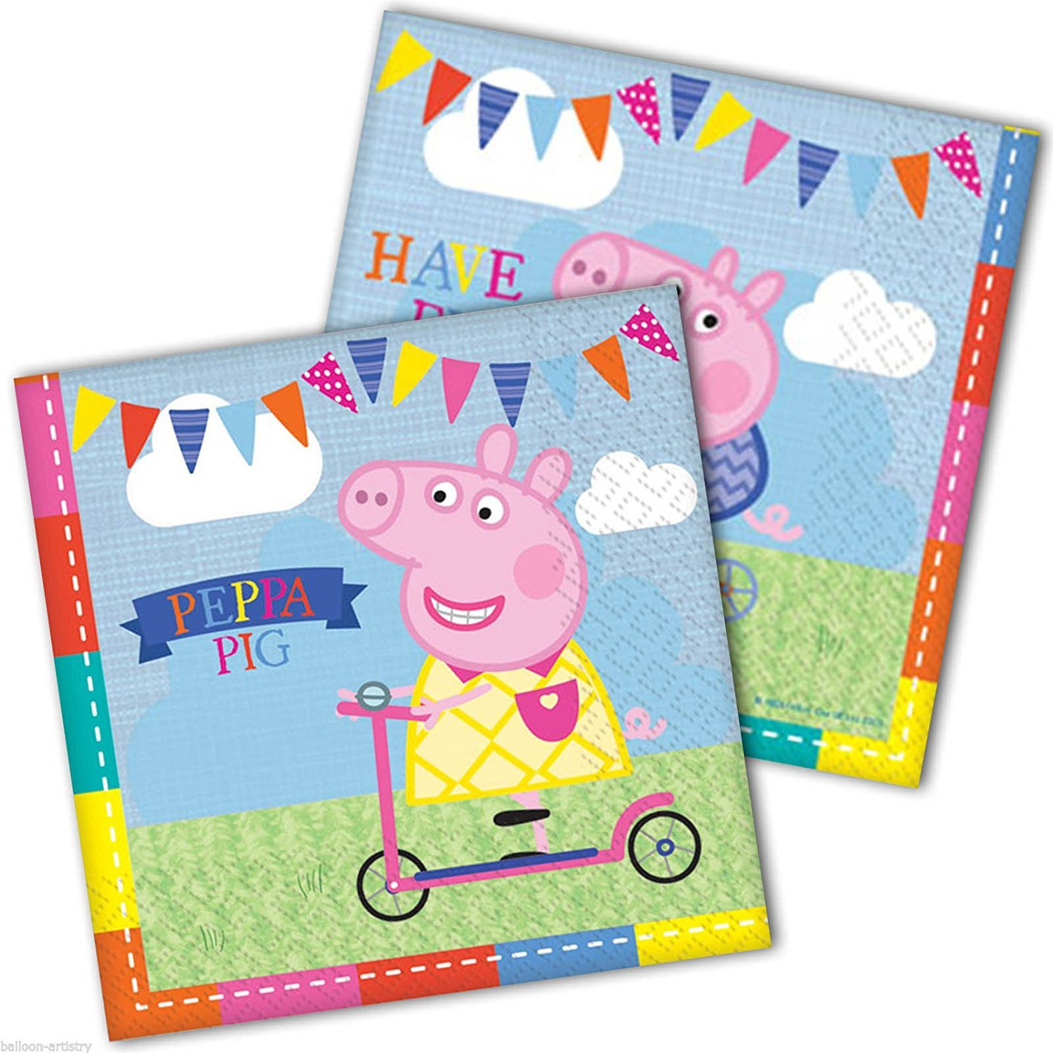 PEPPA PIG DINNER NAPKINS