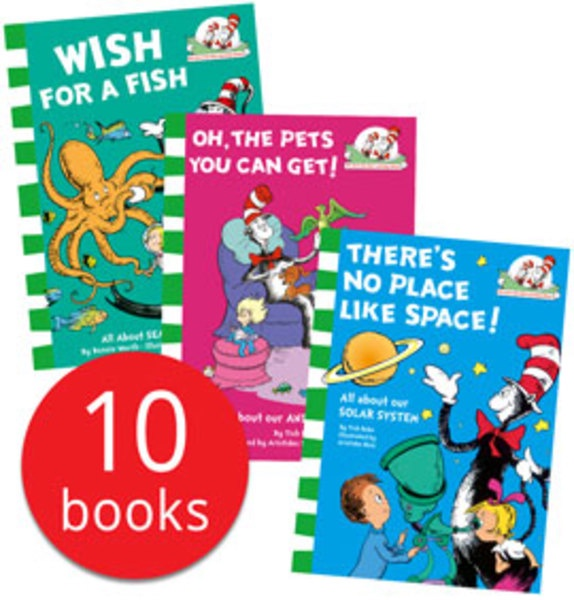 THE CAT IN THE HAT'S LEARNING LIBRARY COLLECTION (10 BOOKS)