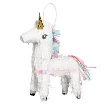 MINI UNICORN PINATA DECORATION
