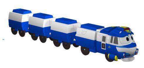 robot trains kay station set toys club. Black Bedroom Furniture Sets. Home Design Ideas