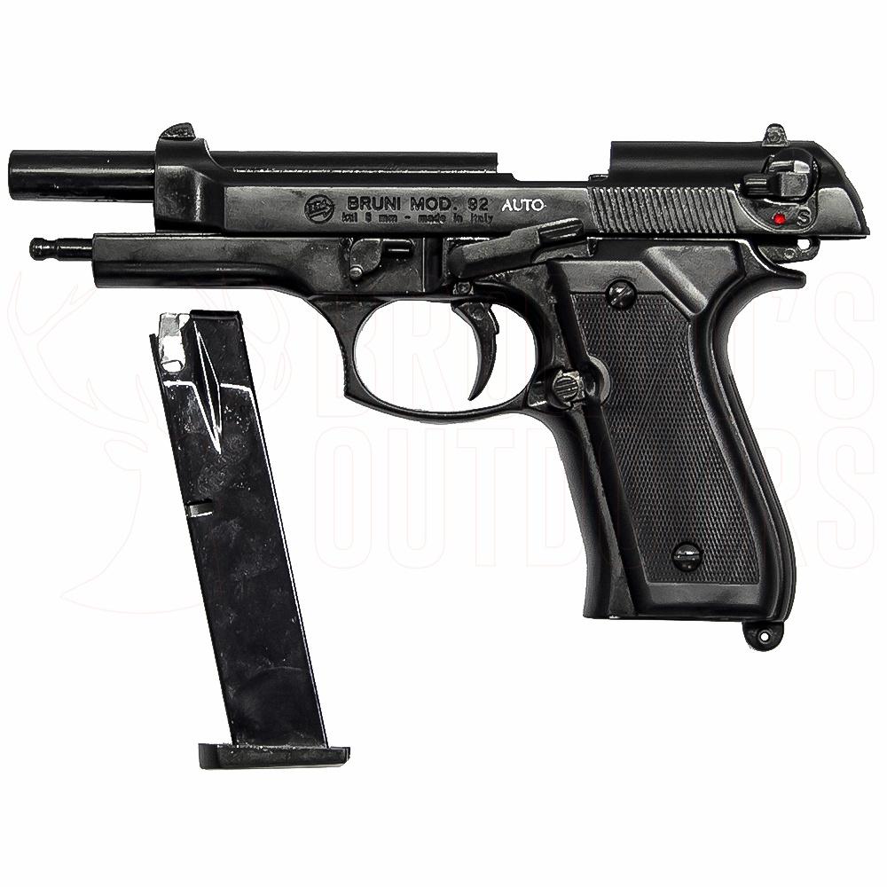 Bruni Model 92 8mm Blank Pistol Full Auto