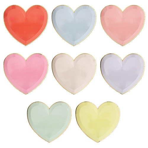 Heart Large Plates