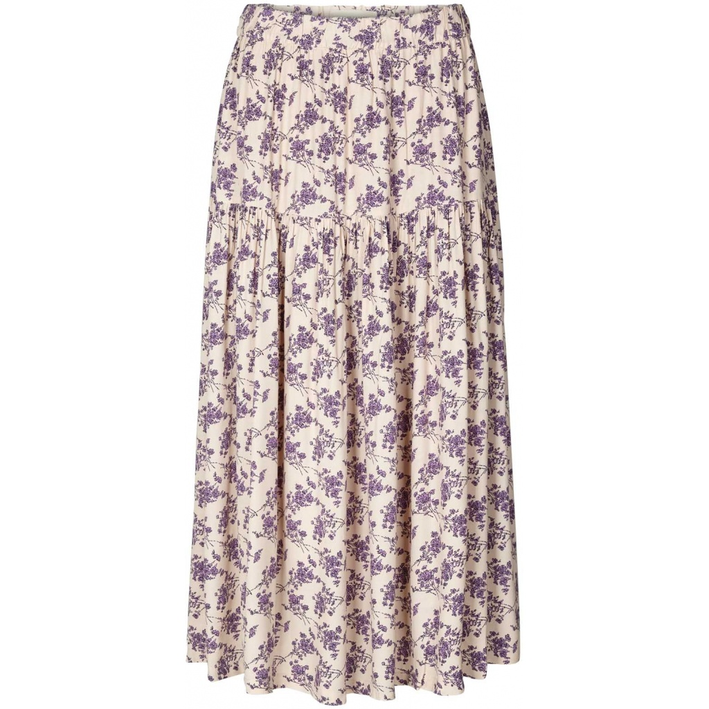 Creme Cokko Tiered Skirt from Lolly's Laundry