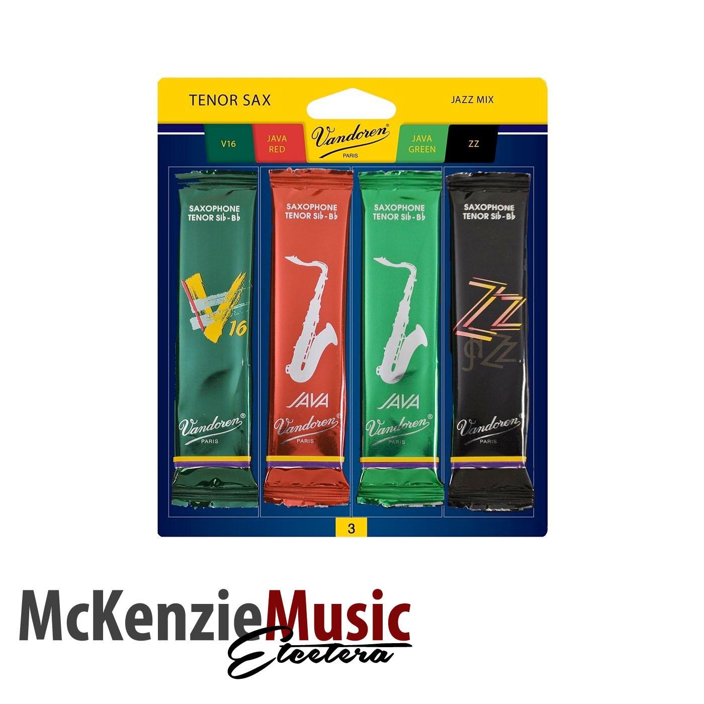 Vandoren Jazz Tenor Sax Reed Mix Pack