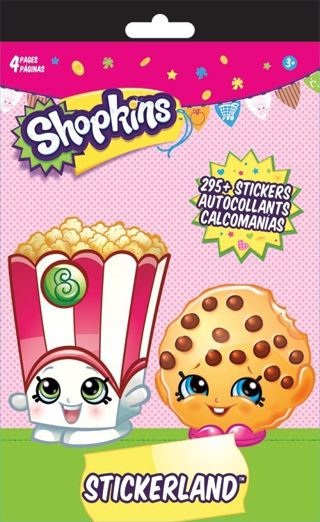 SHOPKINS STICKERLAND