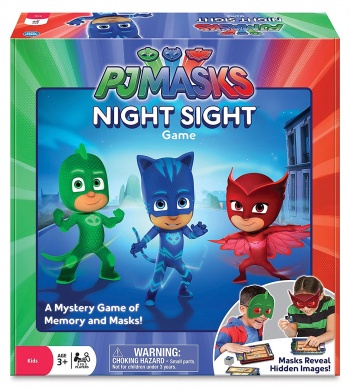 PJ MASK NIGHT SIGHT GAME