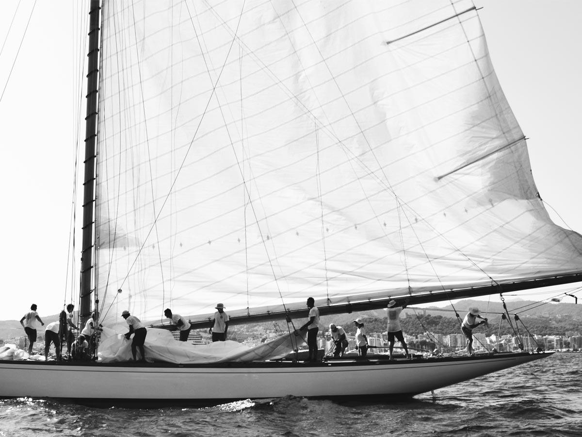 Classic Regatta Sailing Yacht 01