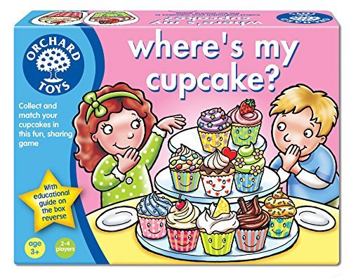 WHERE'S MY CUP CAKE?