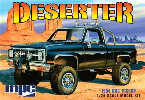 MPC# 848 1/25 1984 GMC Pickup Deserter