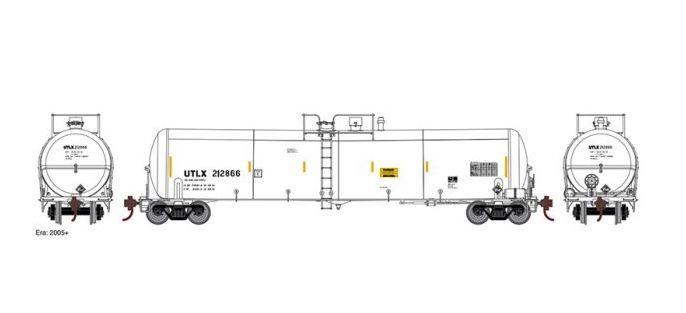 Athearn #ATH16507 30K Ethanol Tank car UTXL