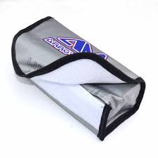 Arrowmax #AM-199502 LiPo Safe Bag 185mm x 75mm x 60mm