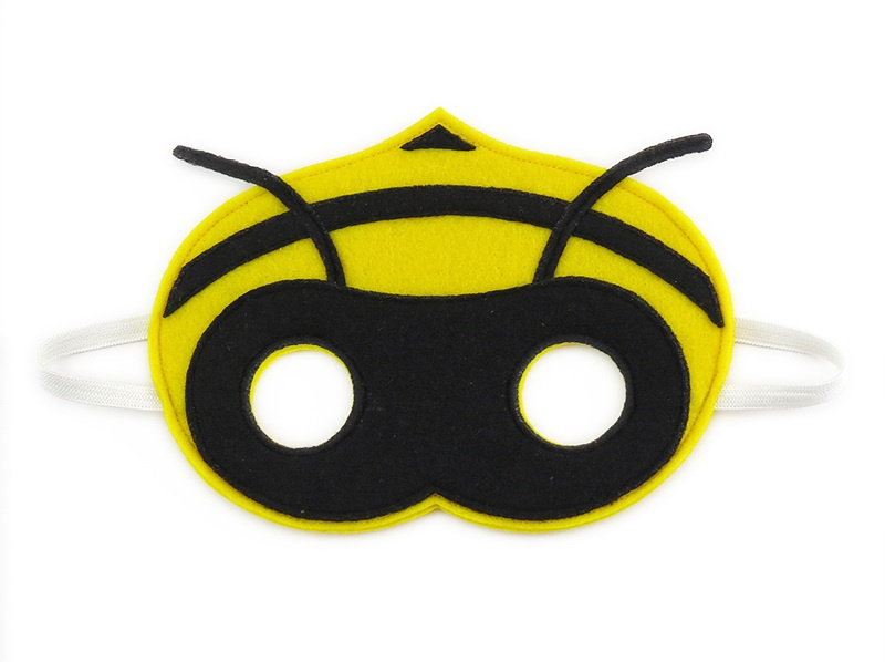 Beatrice the Bee Mask