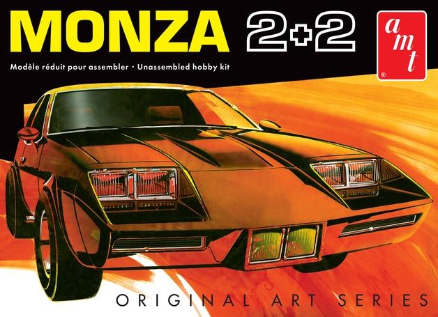 AMT #1019 1/25 1977 Chevy Monza 2+2