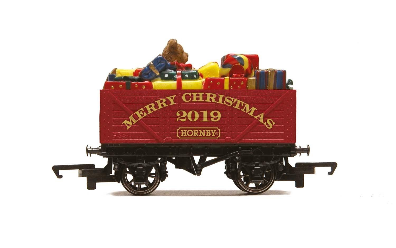 Hornby #R6932 7 Plank Wagon-Christmas 2019