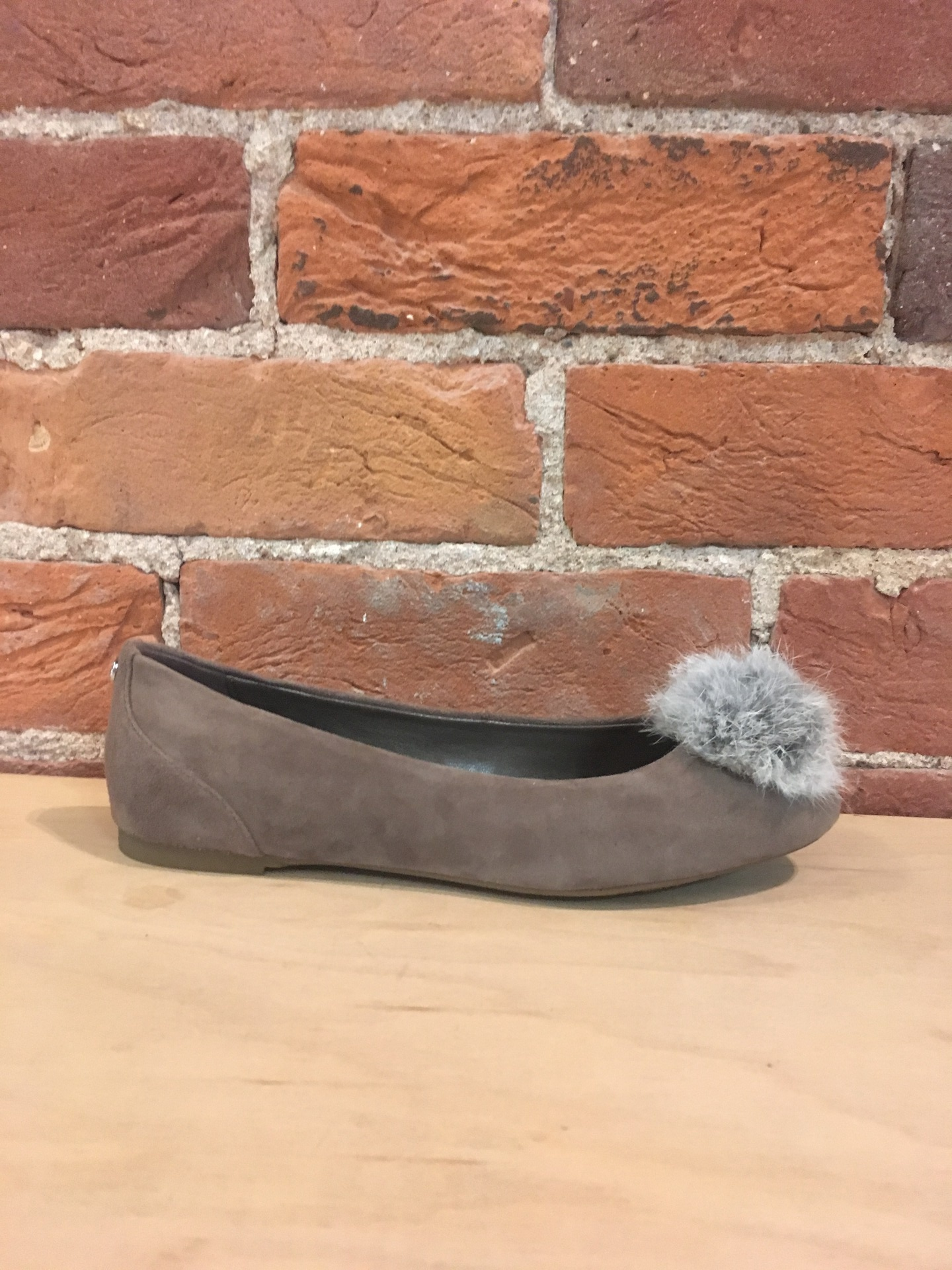 MICHAEL KORS - REMI BALLET IN TAUPE/GREY
