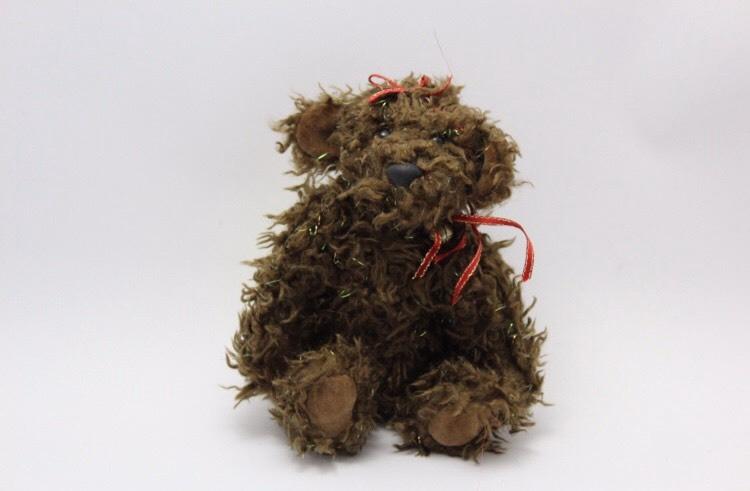 """Handmade Teddybear """"Chocolate"""""""