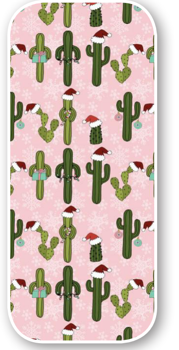 Dreamers and Schemers Boot Socks Christmas Cactus